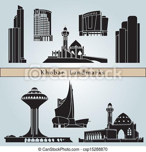 Khobar landmarks and monuments - csp15288870