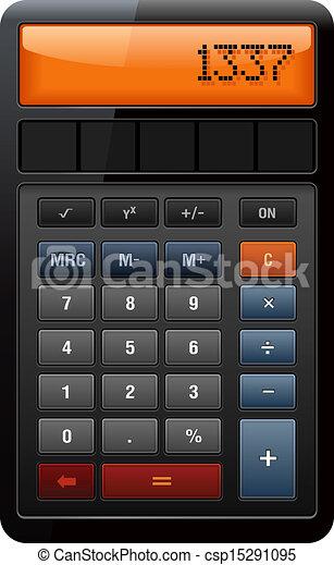Classic Accounting Calculator - csp15291095