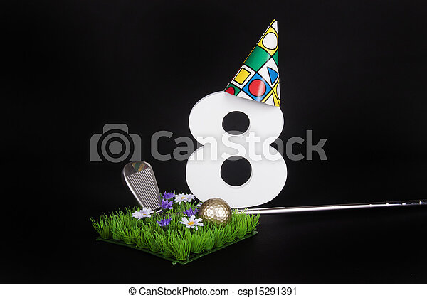 Birthday Golf - csp15291391