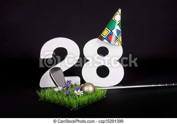 Birthday Golf - csp15291399