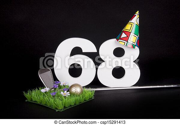 Birthday Golf - csp15291413