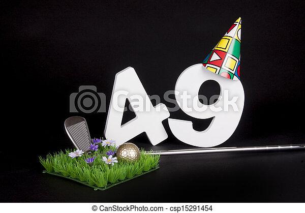 Birthday Golf - csp15291454