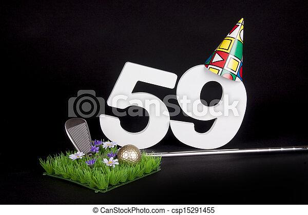 Birthday Golf - csp15291455