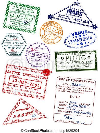 Planet visas - csp1529204