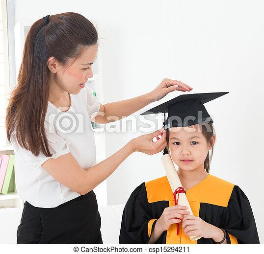 Kindergarten graduation - csp15294211