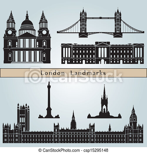 London landmarks and monuments - csp15295148