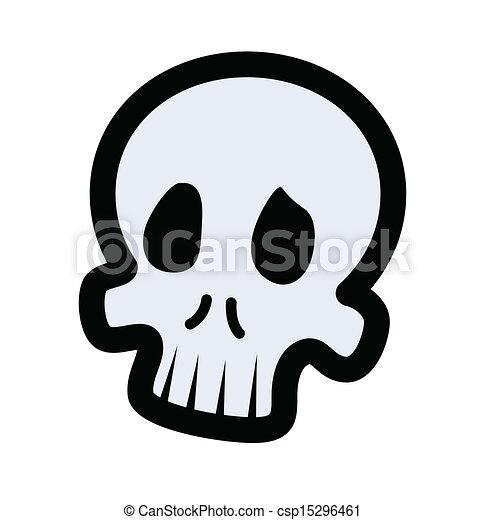 Cartoon Skull Csp