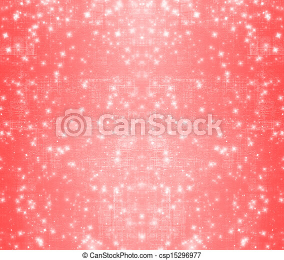 Red abstract paper design in scrapbooking style for greeting card - csp15296977