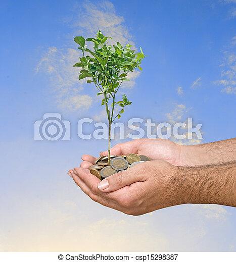 landwirtschaft, investition - csp15298387