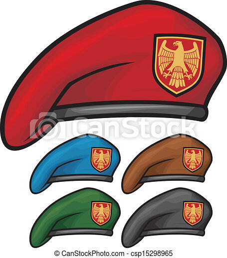 military beret (beret collection) - csp15298965