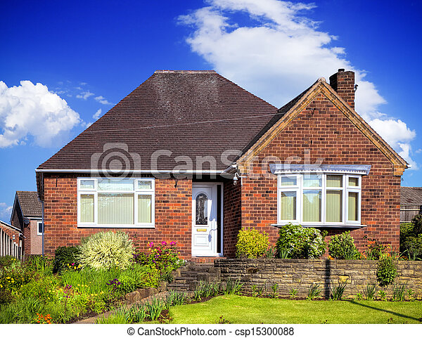 Images de maison jardin anglaise anglaise jardin maison csp15300088 r - Photo maison anglaise ...