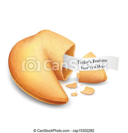 Fortune Cookie - csp15302282
