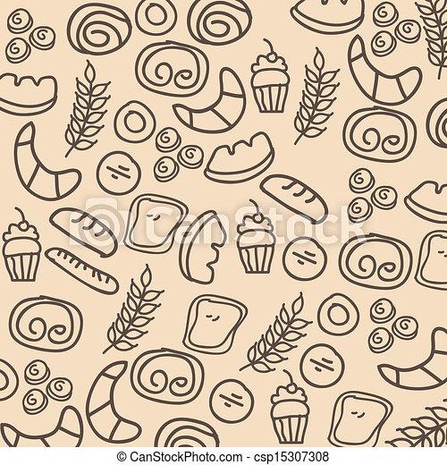 Logos Panaderia Vector Vector Clip Art de Panadería