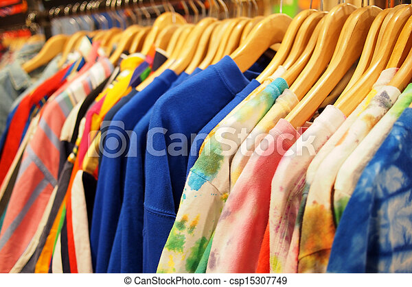Fashion clothing for sale at great discounts - csp15307749