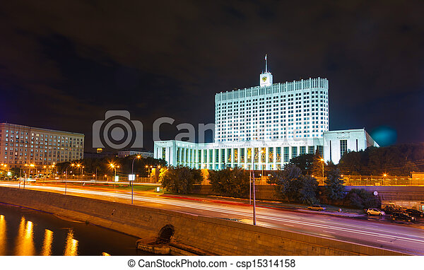 White House of the Russian government - csp15314158