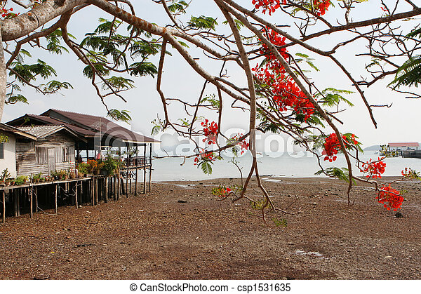 Koh Lanta in Thailand. - csp1531635