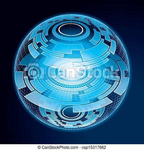 Fantasy Navigation Sphere - csp15317662