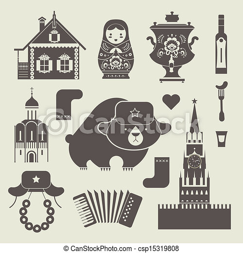 Russian icons - csp15319808