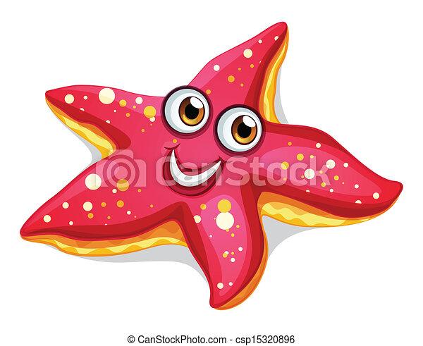 starfish - stock illustration, royalty free illustrations, stock clip ...