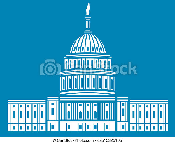 estados, unido, capitolio - csp15325105
