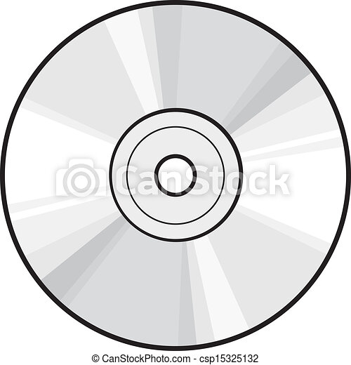 Vectors of CD or DVD disc csp15325132 - Search Clip Art ...