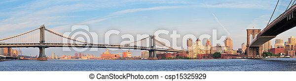 New York City Bridges - csp15325929
