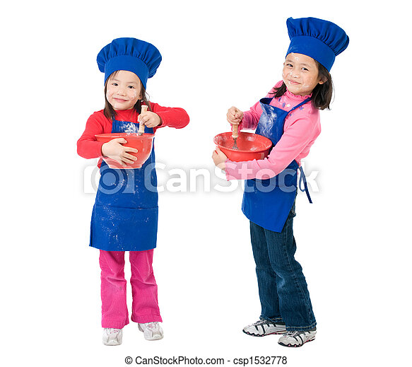 Children Cooking - csp1532778