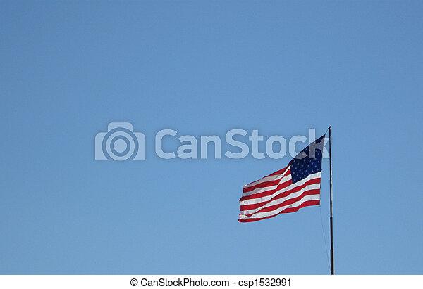 Old GLory Flag - csp1532991