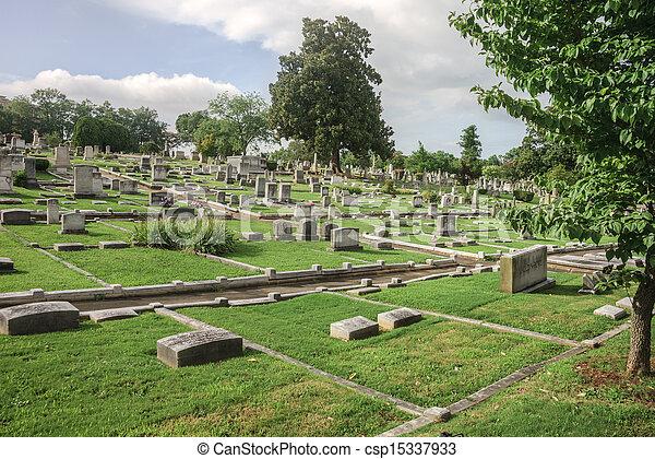Historic Springwood Cemetery - csp15337933