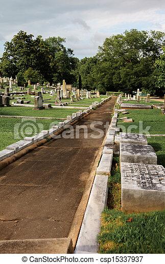 Historic Springwood Cemetery - csp15337937