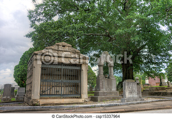 Historic Springwood Cemetery - csp15337964