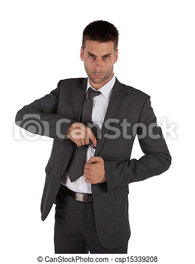 Stock Photography Of Man In A Suit Grabbing Gun A Man In