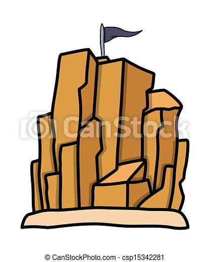 Vector van piraten levend plek rots berg tekening kunst csp15342281 zoek naar clip - Levend berg outs ...