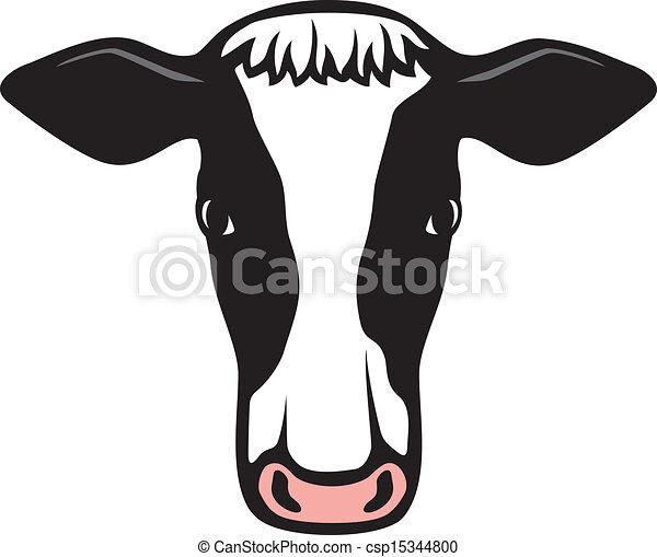 Cute Cow Head Drawing Cow Head