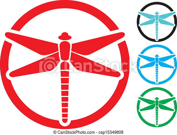 dragonfly sign - csp15349808