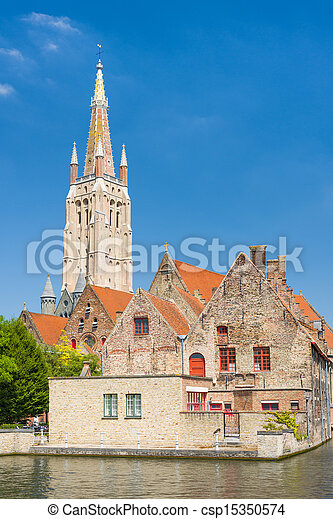 Our Lady Church in Bruges - csp15350574