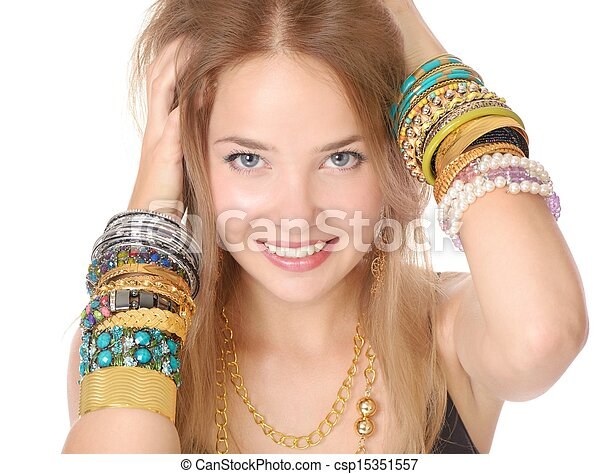 Crazy for fashion - csp15351557