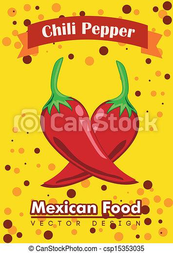mexican food  - csp15353035