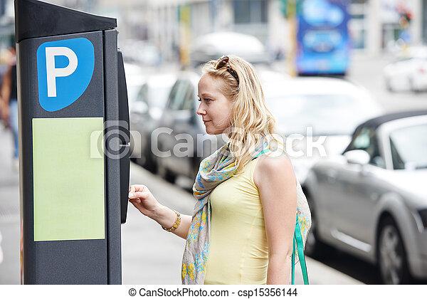 Parking payment - csp15356144