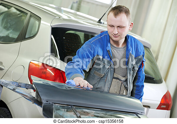 automobile car body check - csp15356158
