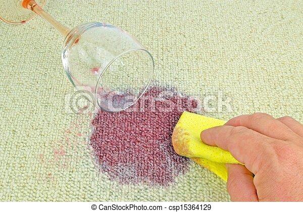 photo de tache moquette nettoyage vin nettoyage haut a csp15364129 recherchez des. Black Bedroom Furniture Sets. Home Design Ideas