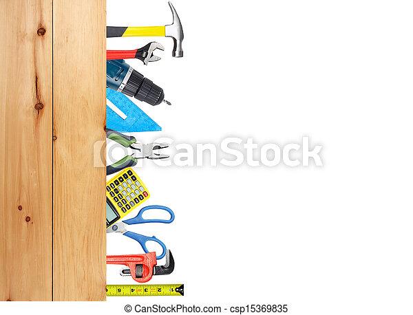costruzione, tools. - csp15369835