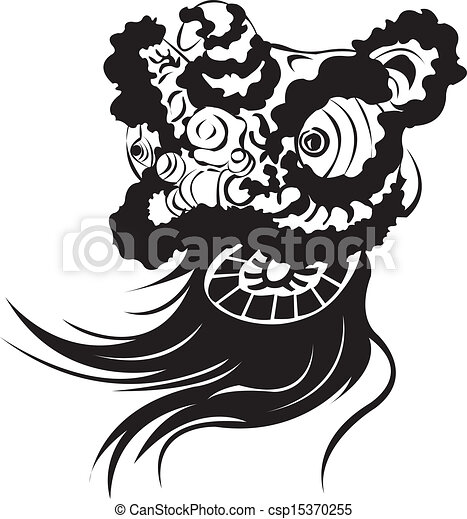 Lion Dancing Clipart Chinese Lion-dance Head