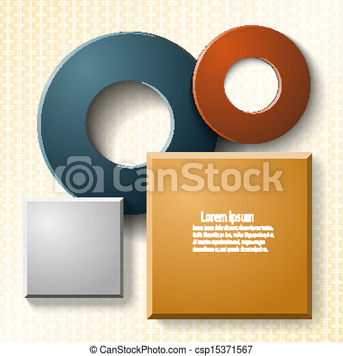 Set of elements for web design and infographics - csp15371567