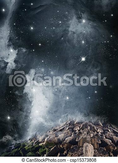 Fantasy landscape - csp15373808