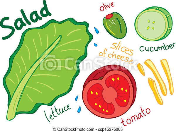 Leafy Vegetables Clipart