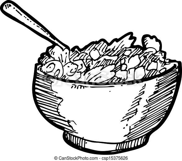 hand drawn noodle clip...
