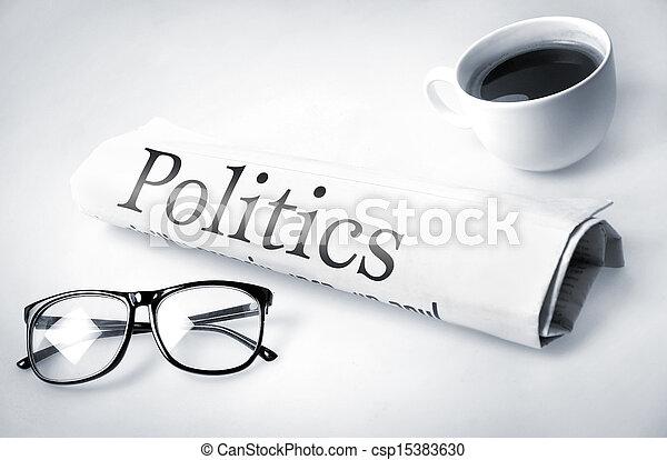 Politics word - csp15383630