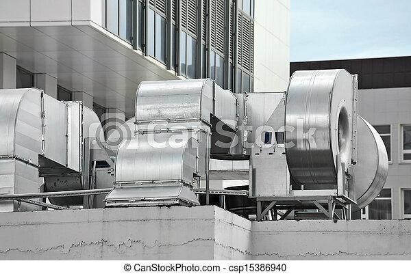Industrial ventilation system - csp15386940
