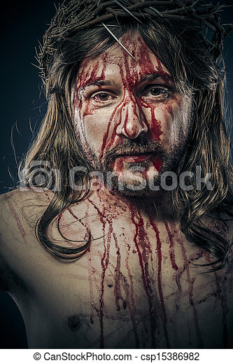Jesus Christ, passion concept, religion picture - csp15386982